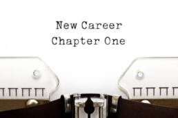 New Career Ambitions and Goals start with taking the first step