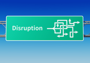 Technology provides a path for positive disruption